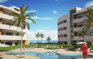 Luxury 1 bedroom apartment in Porto de Mós Beach  Condominium