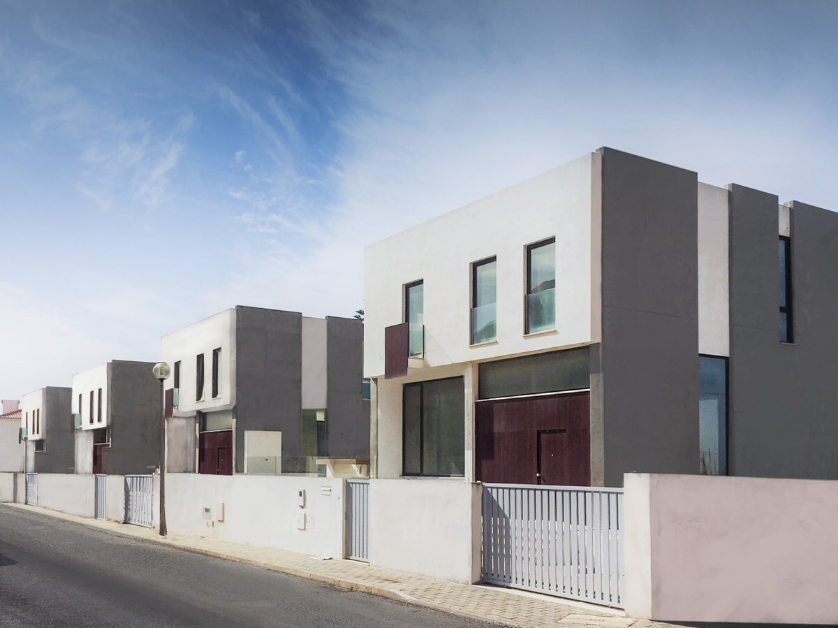 Contemporary 4 Bed Townhouses with Sea View in Santa Cruz