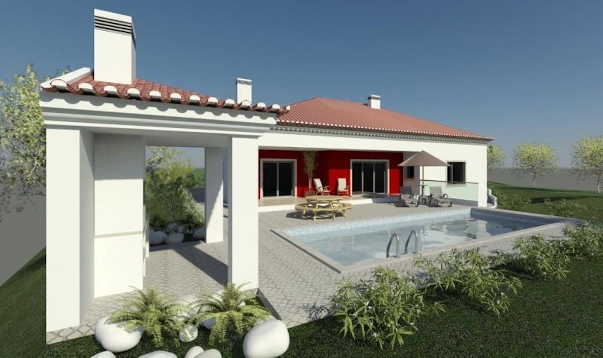 New villa with ocean views Lourinha