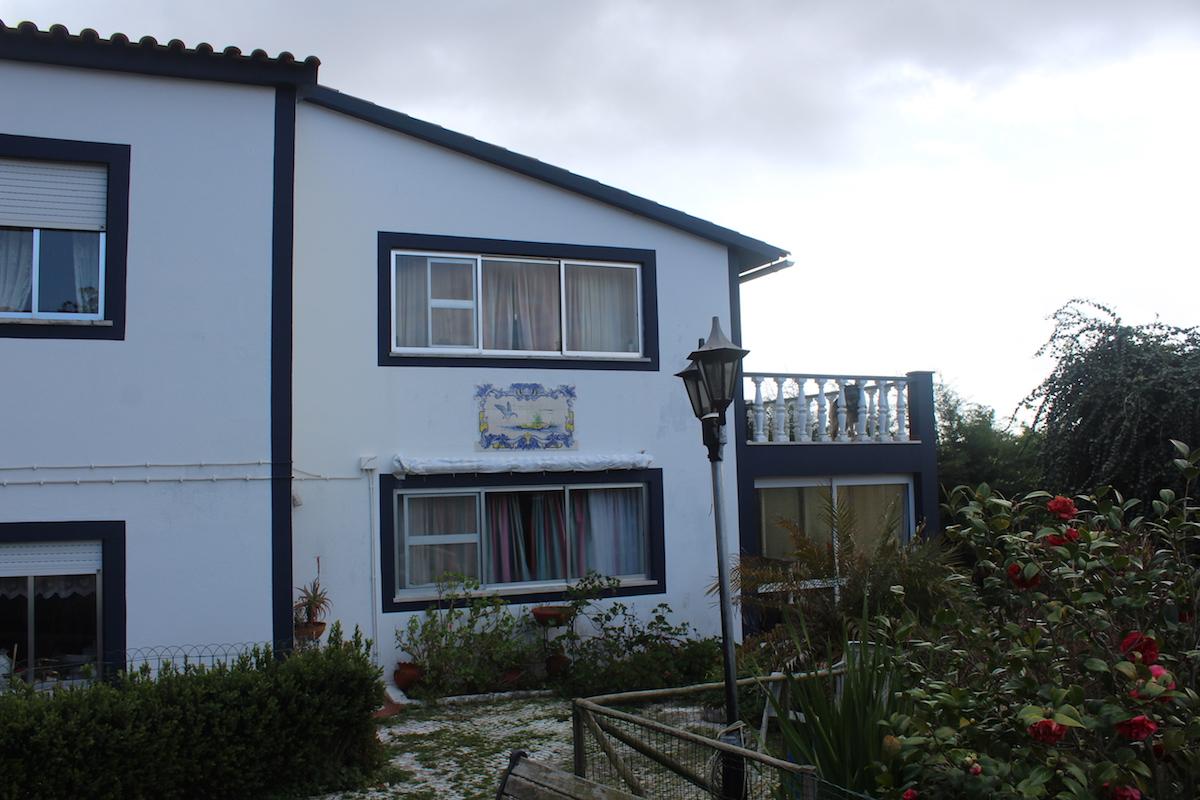 Traditional house beside Caldas da Rainha Silver Coast