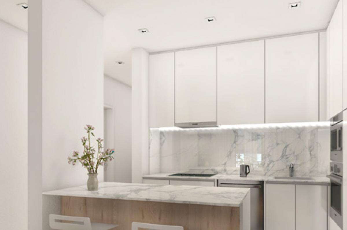 Apartamentos T2 novo a estrear em Sete Rios