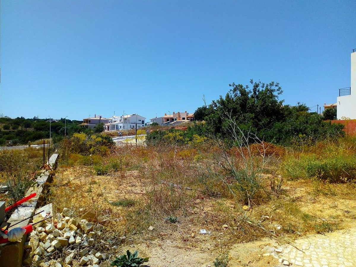 Seaside building plot close to the beach Algarve