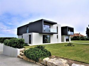 Modern first-line House with excellent sea view