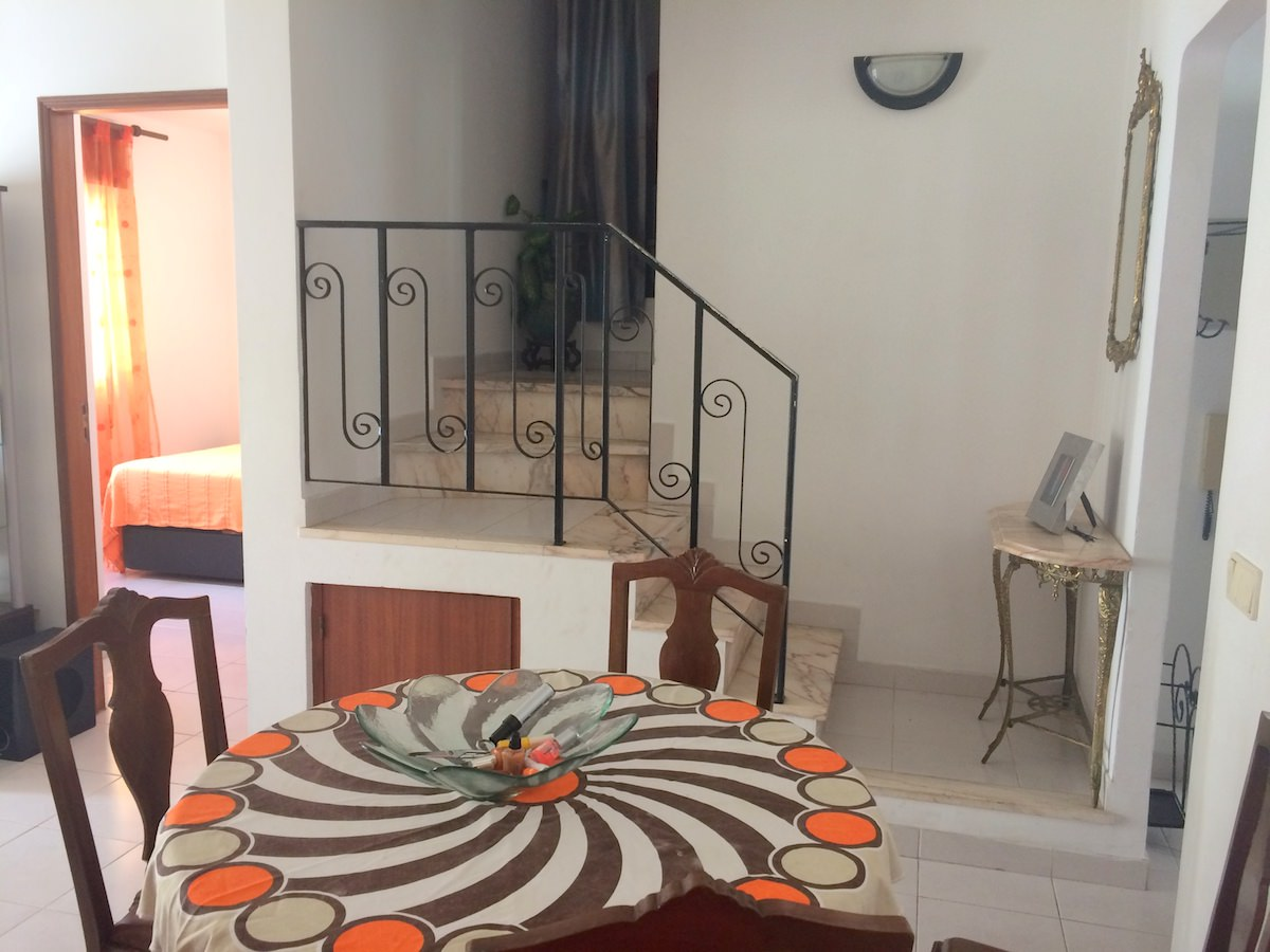 T2 Duplex Apartment in downtown Albufeira at excellent price