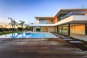 Contemporary sea view villa for sale Algarve