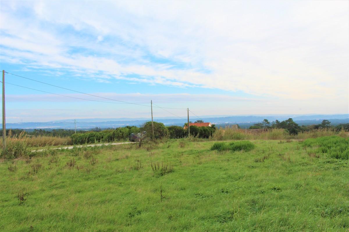 Land with a country view 5 minutes from the beaches of Foz do Arelho and São Martinho do Porto