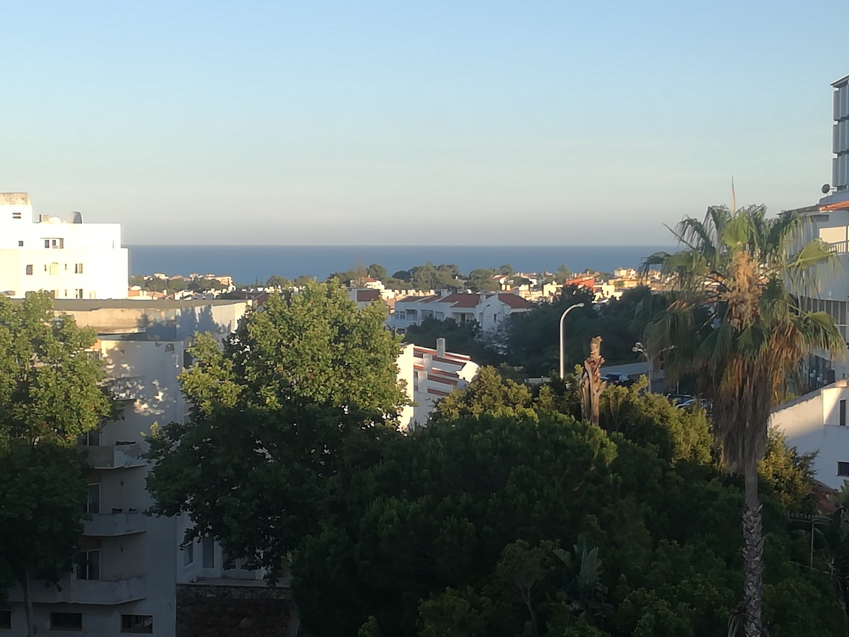 1-bedroom apartment in Albufeira with swimming pool and sea view