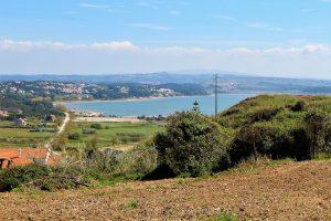 Terreno com vista fantástica sobre a Lagoa de Óbidos a 2 minutos da praia