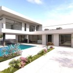 Detached V3 + 1 Villa with pool in Alcantarilha