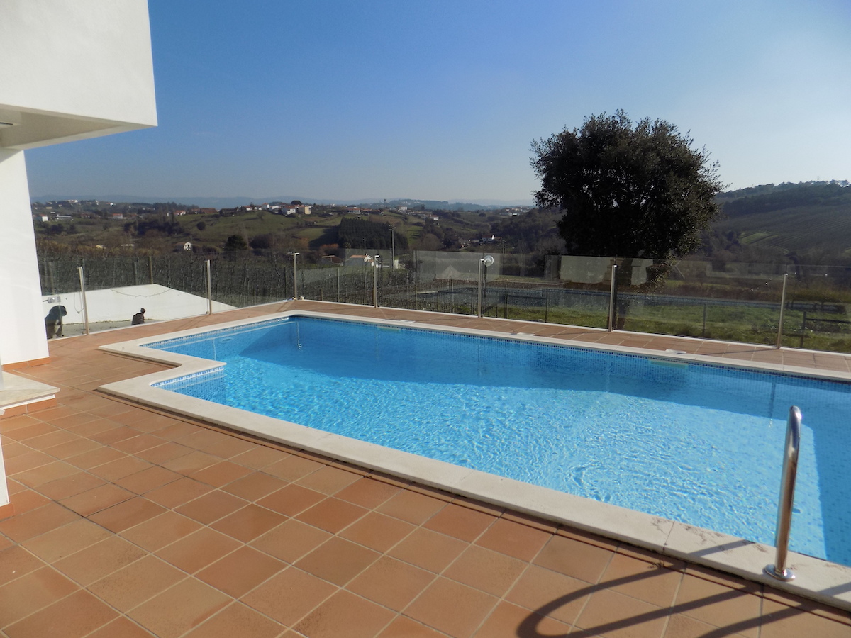 Large swimming pool with unspoiled views