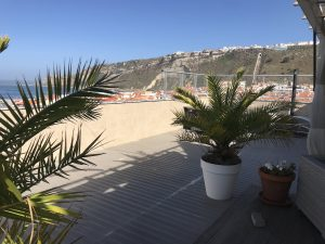 Luxury rooftop flat for sale Nazare