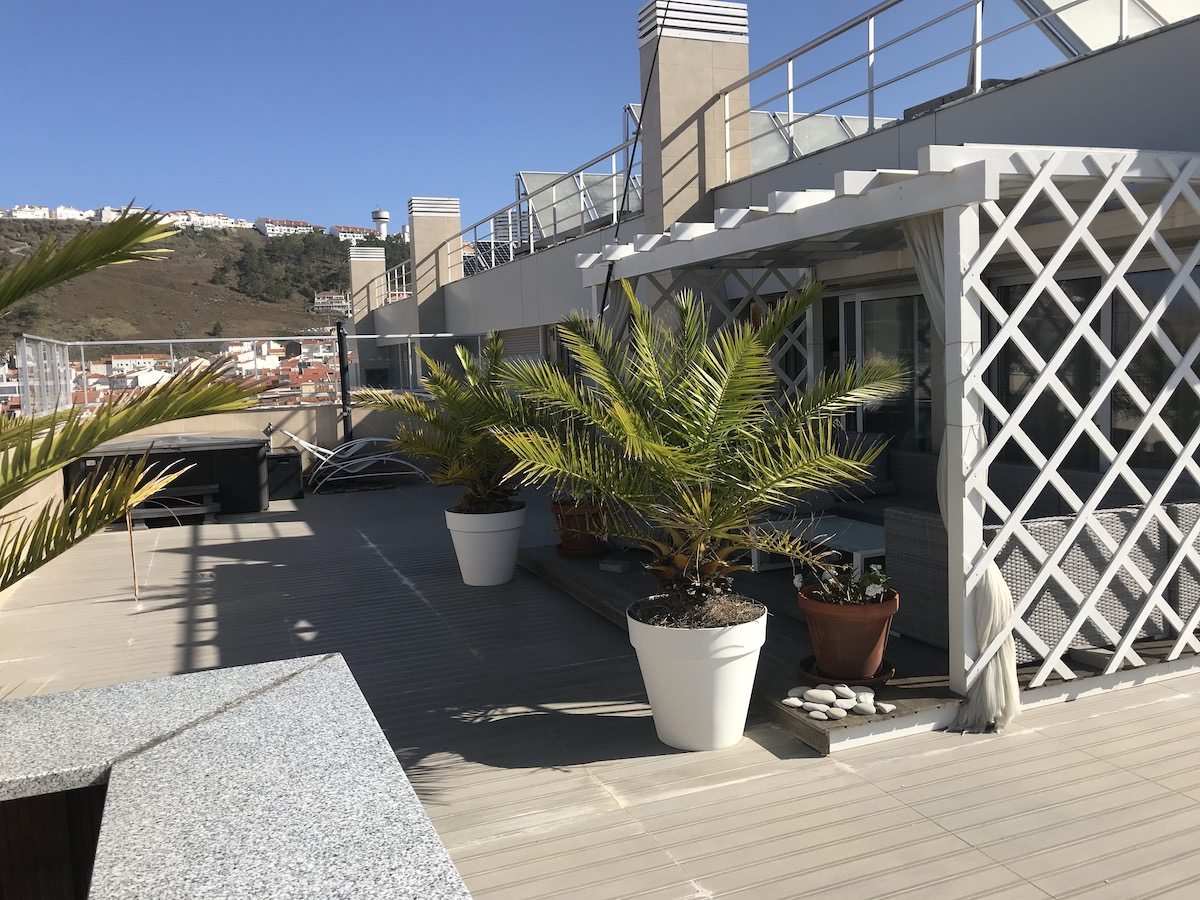 Exclusive apartment with open sea views Nazare