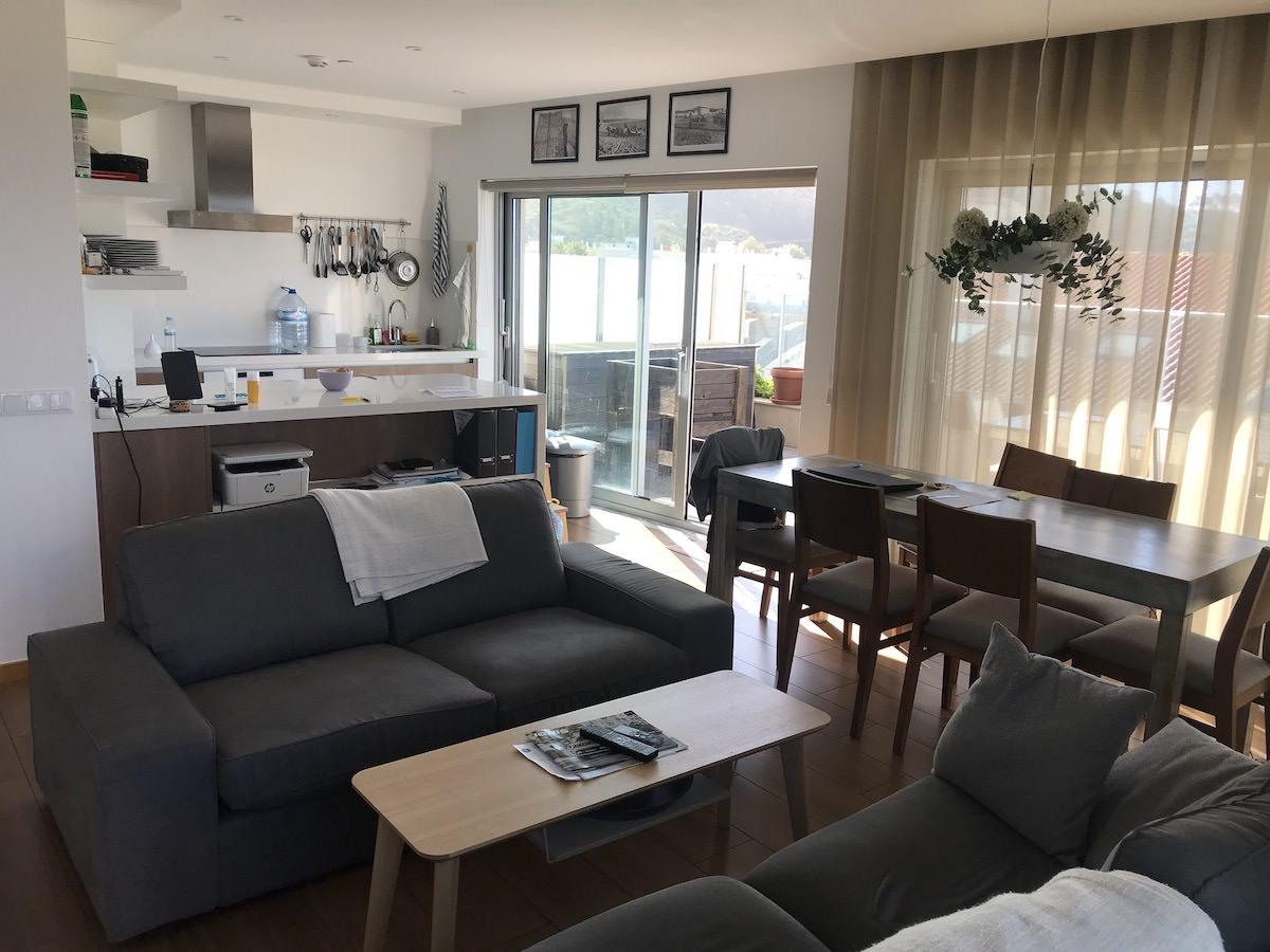 Apartamento penthouse exclusivo na Nazaré
